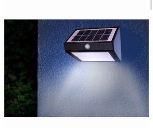 NEUF MASON & Jones énergie Solaire Sécurité PIR Capteur Projecteur Bright DEL Light  </span>