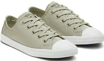 Converse Chuck Taylor All Star Dainty Low Tops Lumière Vert Sauge Or gris blanc | eBay