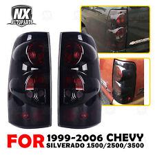 Tail Lights For 1999 2006 Chevy Silverado 99 2003 Gmc Sierra 1500 Pair Assembly