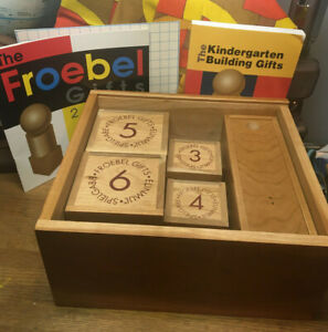 Vintage Froebel Gifts 2000 Educational Wood 2-6 Complete w ...