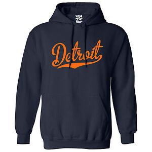 Detroit-Script-amp-Tail-HOODIE-Hooded-Sweatshirt-All-Sizes-amp-Colors