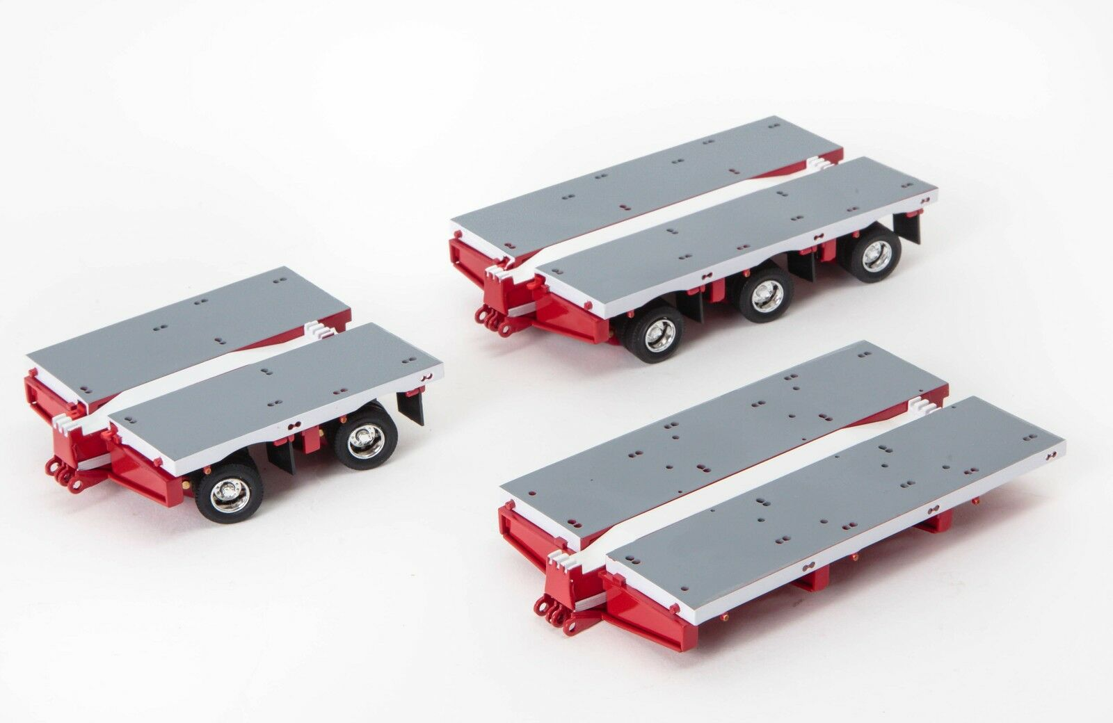Drake Steerable Trailer 2x8 3x8 Clip Accessory Kit blanc rouge 1 50