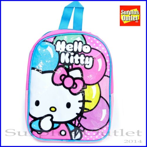 """Hello Kitty Backpack Sanrio Hello Kitty Small 10/"""" Toddler Backpack"""