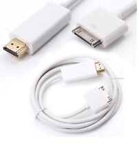6FT 30 Pin Dock Connector to HDMI TV Cable Adapter for iPad 2/3 iPhone 4/4s iPod