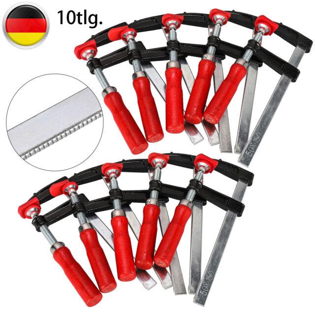 4pcs Schraubzwinge Schraubstock Zwinge Einhandzwinge Leimzwinge Klemmzwinge DHL