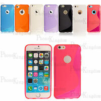 TPU GEL SILICONE CASE COVER POUCH S LINE GRIP WAVE FOR VARIOUS APPLE PHONE+GUARD