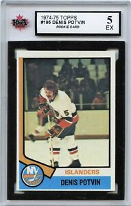 1974-75-Topps-195-Denis-Potvin-RC-Graded-5-0-EX-100519-118