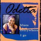 Blues Everywhere I Go by Odetta (CD, Mar-2000, M.C. Records)