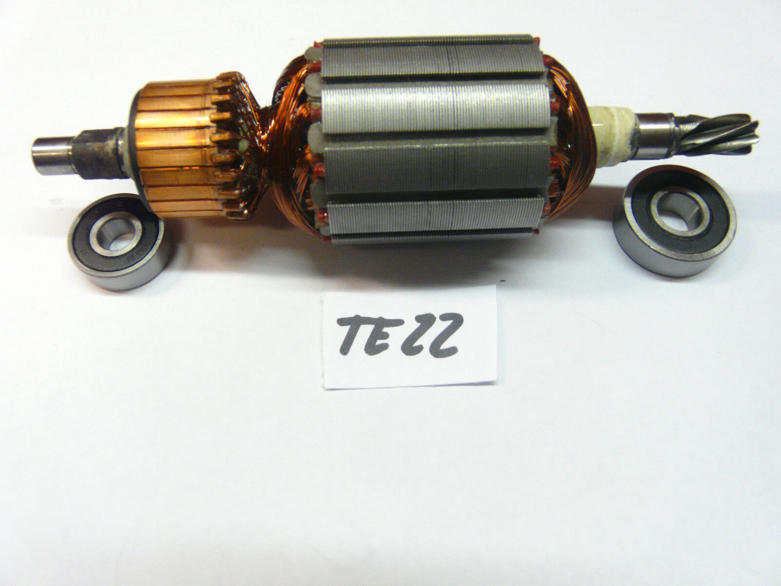 Hilti TE 22 Rotor, Anker + beide Lagern vom Rotor