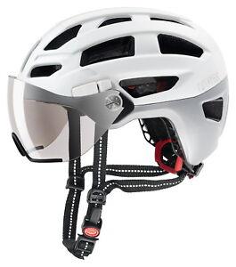 Uvex City i-vo white matt Fahrradhelm für die Stadt *NEU* 2018 Radsport