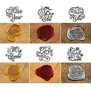 Diy Vintage Sealing Seal Wax Stick Envelope Wedding Invitation Stamp