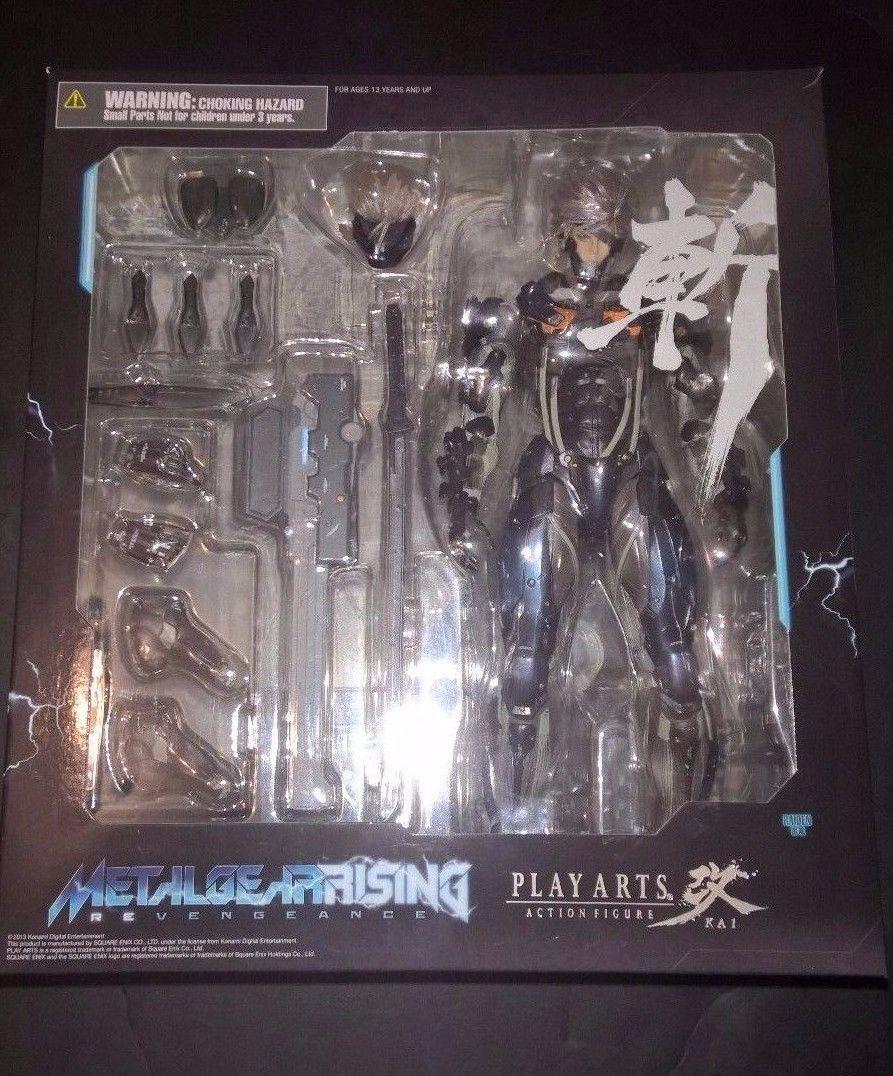 Play Arts Kai Metal Gear Solid RISING revengeance RAIDEN  cifra Square Enix  Miglior prezzo