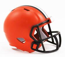 NEW NFL American Football Riddell SPEED Pocket Pro Helmet CLEVELAND BROWNS