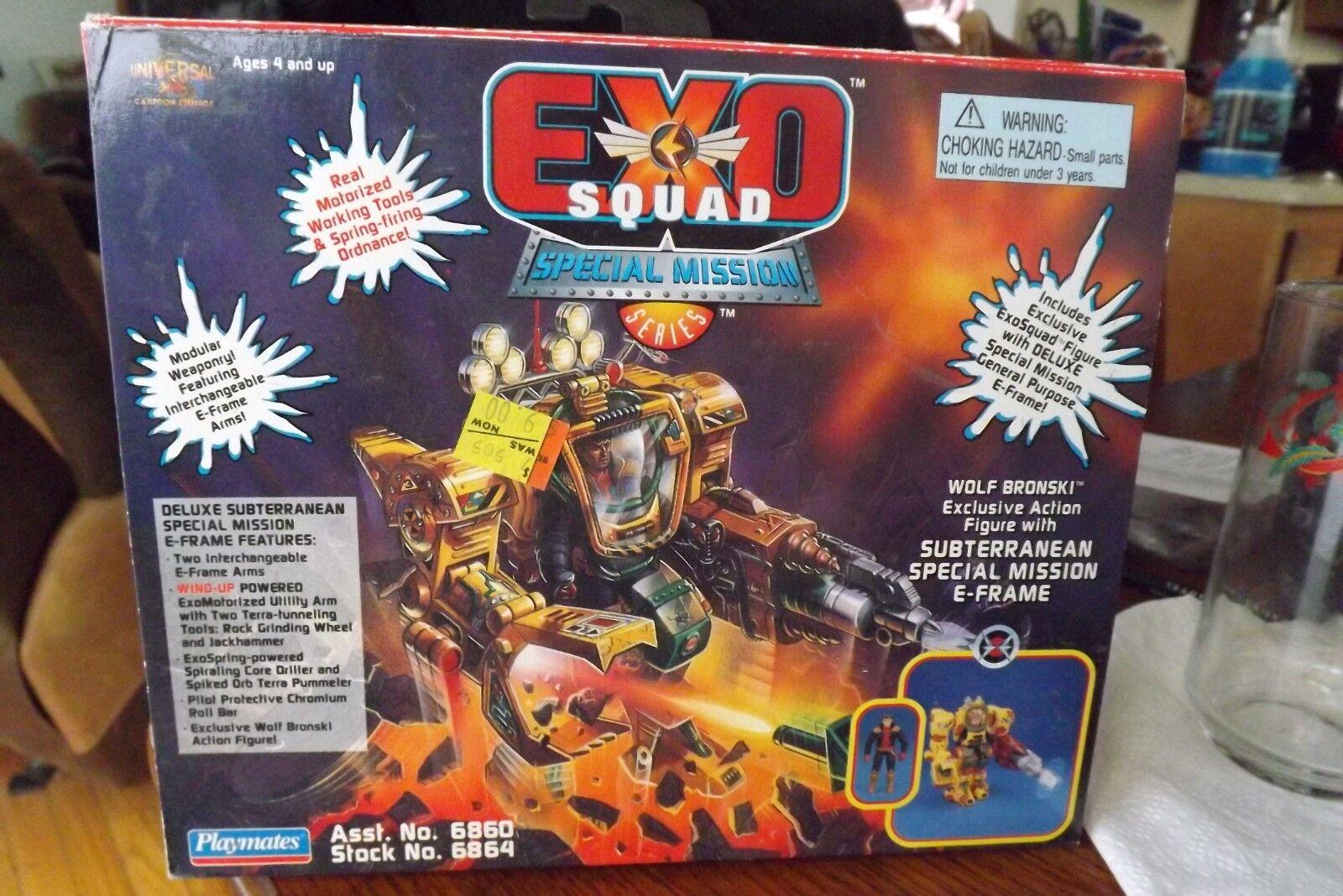 Exo - wolf bronski unterirdische besondere mission e-frame