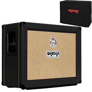 Orange PPC212OB BK BLACK Open Back Guitar Speaker Cabinet PPC 212 ...