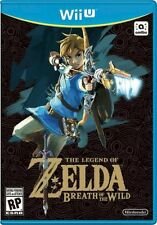 Wii U The Legend of Zelda Breath of the Wild NEW Sealed NTSC Americas only