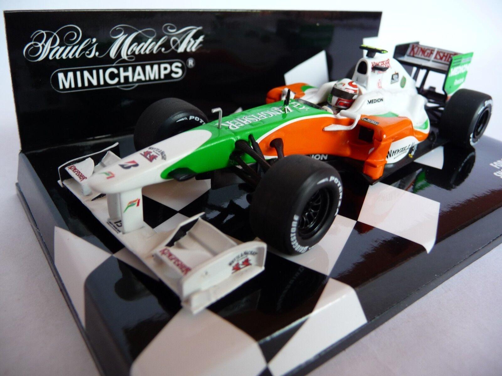 Minichamps 1 43 Force India Showcar 2010 Liuzzi Vitantonio 100085