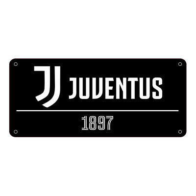 BK Official Licensed Juventus Metal Street Sign
