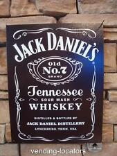 Jack Daniels Metal Sign Carved Beer Home Bar Decor Signs Pub Man Cave Plaque NEW