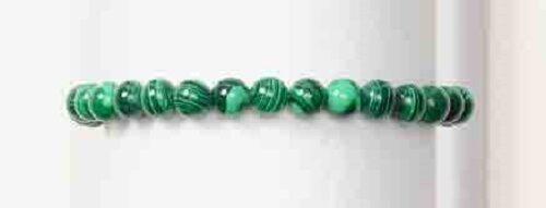 Puissance Mini Stretch Bracelet 4 mm #MH Malachite pour Esprit Mal
