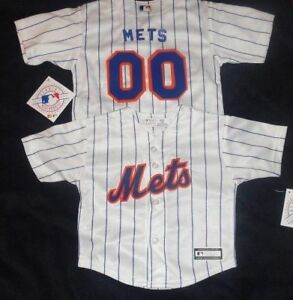 newest 64eff 28c54 New York Mets MLB Majestic Infant Replica Jersey add any ...