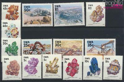 Mnh 1989 Minerali E M 9233755 Rapid Heat Dissipation completa Edizione Adroit Namibia Southwest 649-663