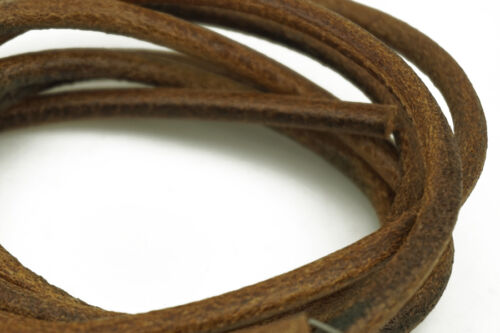 """72/"""" 5.6mm COWHIDE LEATHER BELT For SINGER TREADLE SEWING MACHINE - 183cm"""
