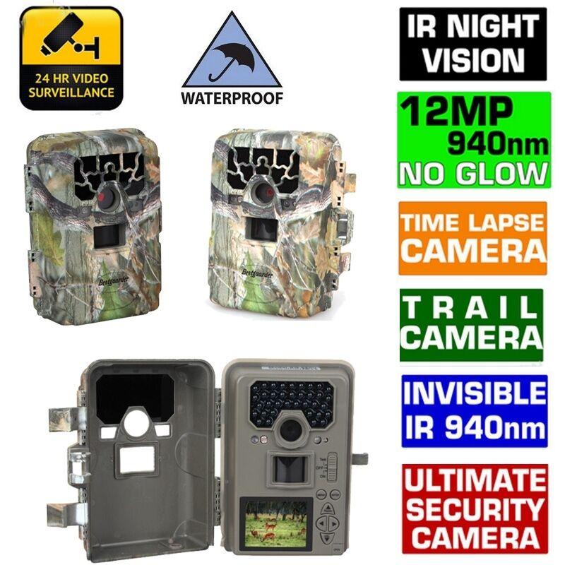 1080P SG-880V No Glow Glow Glow 12MP Mini InfraROT IR Digital Trail Game Hunting Camera 2