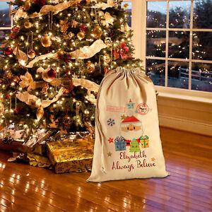 Nome-Personalizzato-Santa-Sacco-Natale-2019-Renna-Natale-Sacco-Calza-Magic