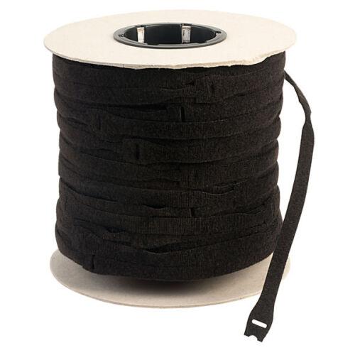 5 x 25 mm x 300 mm bande velcro marque ® One Wrap Cable Ties Velcro Sangle Noir