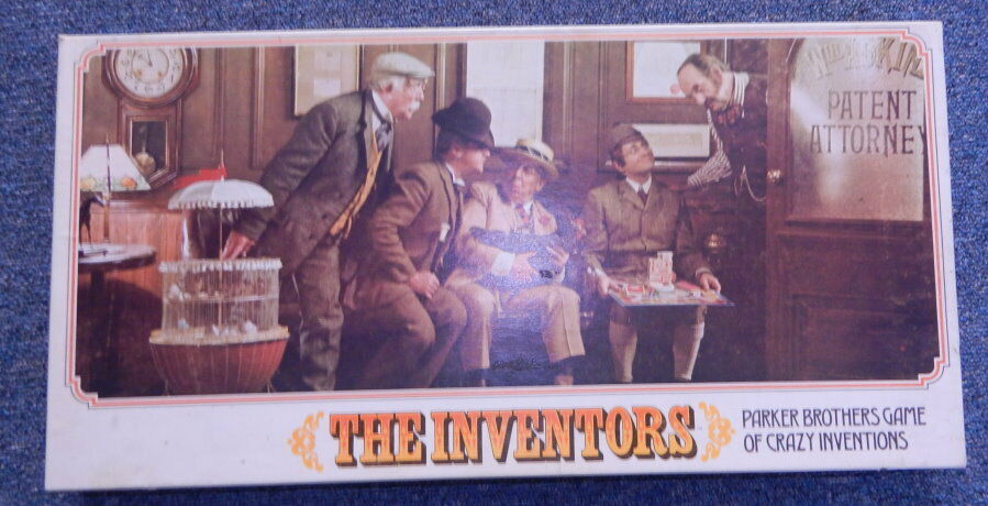 The Inventors Board Game 1974 Parker Bredhers Complete R12253