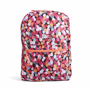055b14dad0 Details about VERA BRADLEY BACKPACK IN POUCH PIXIE CONFETTIE MARRAKESH NEW  FAST SHIPPING!
