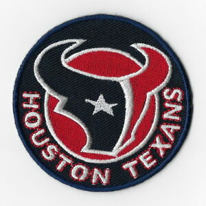 Houston-Texans-Iron-on-Patches-Embroidered-Badge-Patch-Applique-Round-Sew-FN