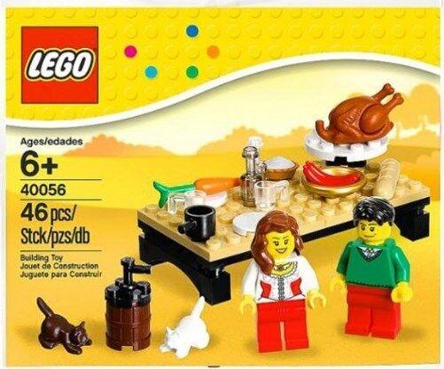 LEGO 40056 - Seasonal Set - Thanksgiving Feast - Poly Bag Set - NEW