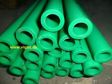 10 X Ppr Aqua Plus Pipe 25mm Diameter Heater Tube Hose Fusiotherm