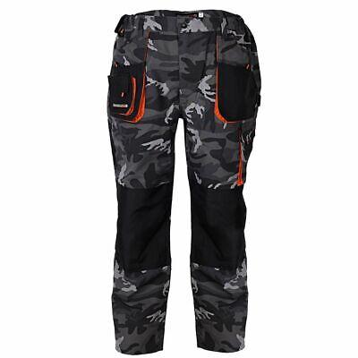 Terratrend Job Uomo Pantaloni Federale, Mimetico-mostra Il Titolo Originale Originale Al 100%