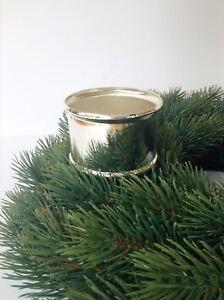 kerzenhalter f r adventskranz versilbert weihnachtskranz. Black Bedroom Furniture Sets. Home Design Ideas