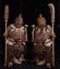 22-034-China-Pottery-Tao-Porcelain-Ancient-Door-god-Door-Gods-Military-Officer-Pair