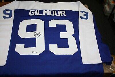Doug Gilmour Autographed Blue Toronto Maple Leafs Jersey