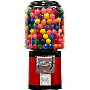 Gumball Vending Machine for 1-inch Gumballs, Capsules, Bouncy Balls by American