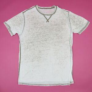 Paper-Thin-Burnout-Plain-Blank-T-Shirt-XL-Grunge-Skate-Beach-Retro