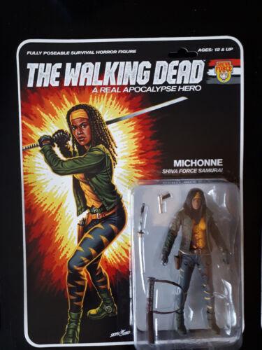 Forza di Shiva The Walking Dead reale APOCALISSE Eroe Michonne Samurai Stile GI JOE