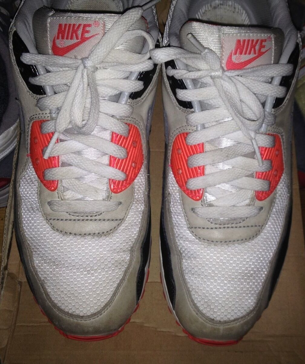 huge selection of 61109 3ebd8 ... RARE  Nike Air Max 90 Premium Infrared Ostrich OG OG OG (2008) Sz ...