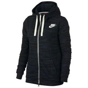 Sizes S & M 924081-010 Brilliant Nike Women's Sports Black/multil Printed Hooded Jacket