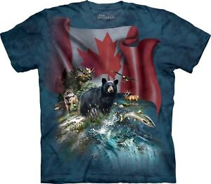 Canada T Beautiful Shirt Mountain Adult Unisex qxAYRaFx