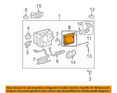 Denso 476-0072 AC Evaporator Core for 88501-90A07 EV 3520AC 4711267 54156 yh