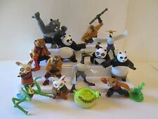 KUNG FU PANDA 15 Figure lot Toys Cake Toppers 2008 2011 McDonald's Happy Meal