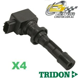TRIDON-IGNITION-COIL-x4-FOR-Mazda-CX-7-ER-11-06-06-10-4-2-3L-MZR-DISI
