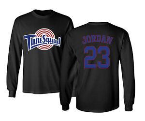35e6359a609a Tunesquad Michael Jordan  23 Space Jam Mens   Youth Long Sleeve T ...