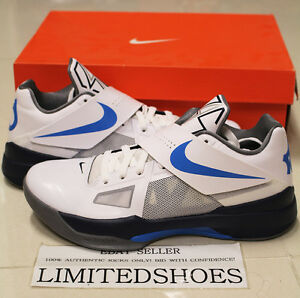 size 40 9d4c0 5782a Image is loading NIKE-ZOOM-KD-IV-4-OKC-HOME-WHITE-